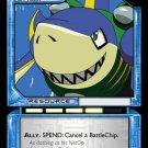 MEGAMAN GAME CARD MEGA MAN 3R75 SharkMan Fishy Agent