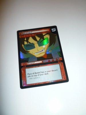 MEGAMAN GAME CARD MEGA MAN SPECIAL PROMO PRISM FOIL  2SR85 UNBELIEVABLE!