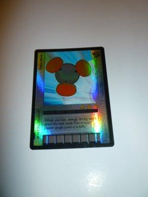 MEGAMAN GAME CARD MEGA MAN SPECIAL PROMO PRISM FOIL 1P2 ENERGY BOMB