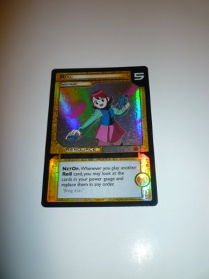 MEGAMAN GAME CARD MEGA MAN SPECIAL PROMO PRISM FOIL  1SR114 MAYLU SWEETHEART