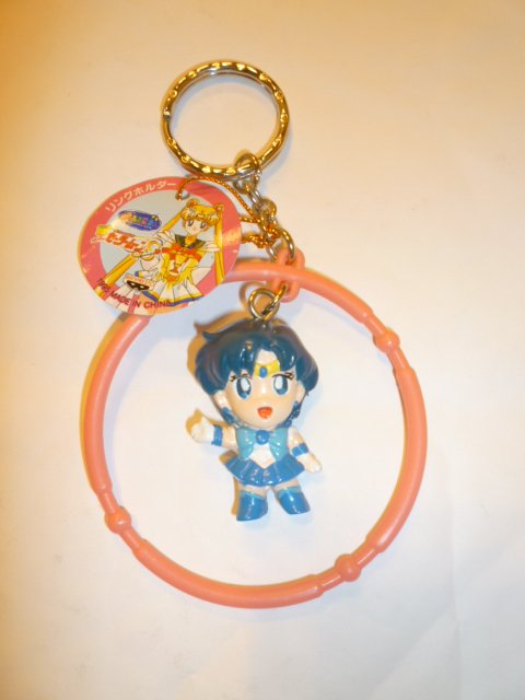 FIGURE SAILOR MOON KEYCHAIN BANPRESTO SAILORMOON S MERCURY