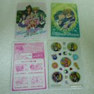 SAILOR MOON JAPAN KIRA BOW OUTER MINI STICKER ENVELOPE PAPER CARD