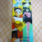 SAILOR MOON ANIME BOOKMARK CARD BLACK MOON GIRLS