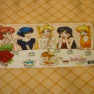 SAILOR MOON CRYSTAL  BOOKMARK CARD INNER GROUP CASUAL SANDWHICH TIME