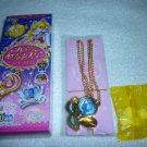 SAILOR MOON CRYSTAL JAPAN SEBON PRISM PREMIUM TUXEDO MASK GOLD BLUE VENUS PENDANT NECKLACE TOY CANDY