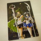 SAILOR MOON JUMBO BOARD MANGA CARD PLUTO SATURN