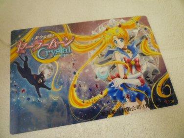 SAILOR MOON JUMBO BOARD CRYSTAL CARD SAILORMOON