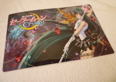SAILOR MOON JUMBO BOARD CRYSTAL CARD PLUTO
