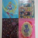 SAILOR MOON CRYSTAL RAREST LIMITED CLEAR FILE COMPLETE SET OF 4 FOLDER MINISTOP
