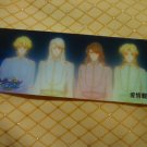 SAILOR MOON CRYSTAL BOOKMARK CARD Jadeite Nephrite Zoicite Kunzite (rainbow)