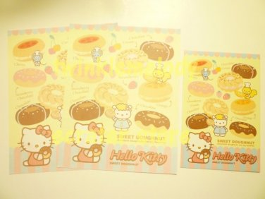 SANRIO HELLO KITTY SWEET DOUGHNUT LETTER SET