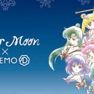 SAILOR MOON IT'S DEMO NEW LOT 2 PACK SMALL TOTE BAG GLITTER CHARM COOKIE AND CANDY CHOCOLATE BALL