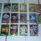VINTAGE SAILOR MOON STICKER PRISM CARD HUGE LOT SET SAILORMOON R