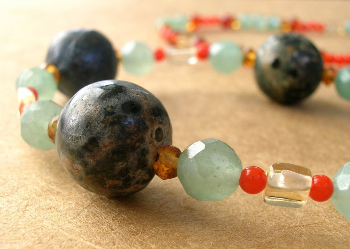 Green Earth Necklace