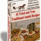 65 Tried and True Traditional Amish Recipes - Resell eBook!