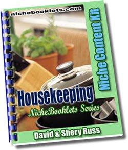 Housekeeping Niche eBooklet - Resell eBook!