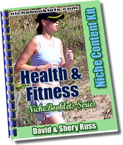 Health & Fitness Niche eBooklet - Resell eBook!