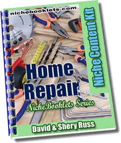 Home Repair Niche eBooklet - Resell eBook!