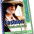 Fashion Niche eBooklet - Resell eBook!