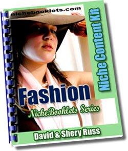 Fashion Niche eBooklet - Resell eBook!