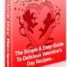 Valentine's Day Recipes - Resell eBook!