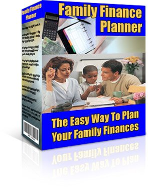 Family Finance Planner - Resell EXE eBook