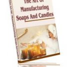 The Art of Making Soaps and Candles - Resell eBook