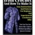 Irish Crochet and How to Make it - Resell eBook