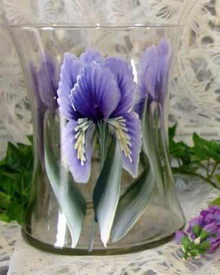 Iris Hourglass Ice Bucket/Vase