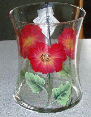 Poppy Hourglass Ice Bucket/Vase