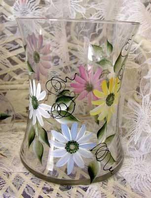 Daisy Hourglass Ice Bucket/Vase