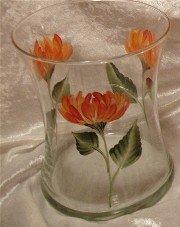 Chrysanthemum Hourglass Ice Bucket/Vase