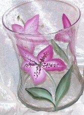 Lily Hourglass Ice Bucket/Vase