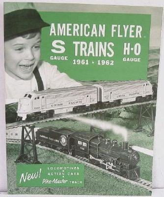 American Flyer Trains 1961-1962 S/H-O Original Catalog Toy Toys Railroad