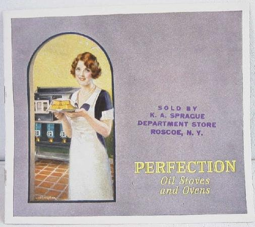 Perfection Oil Stoves Stove Ovens c.1927 Original Trade Catalog Catalogue