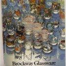 Brockway Glassware Glass Catalog Original Trade Catalogue c.1978