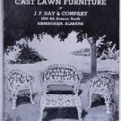 Cast Lawn Furniture Original Catalog JF Day & Co circa 1961 Metal Iron Outdoor Garden