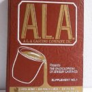 ALA Casting Co Ency of Jewelry Castings Supplement No.1 Red Cover c.1978 Catalog