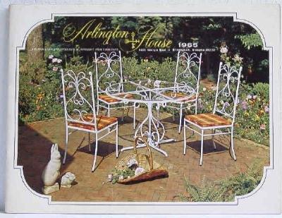 Arlington House America�s Largest Producer of Wrought Iron Metal Furniture 1965 Catalog Original