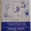 Drach & Weinfeld Co 1953 Catalog Jewelry Novelties Dresser Sets Lighters Cufflinks Compacts