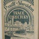 1931 Pruitt-Sheridan Trade Directory 9th Annual Issue for Mail Order Businesses