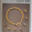 Myer 120 Hardbound Color Gold Jewelry Catalog c.1985 Semi-Precious Stones Diamonds Pearls