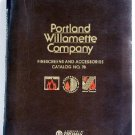 Portland Willamette Company Firescreens and Accessories Catalog No.78 Andirons Fireplace Firesets