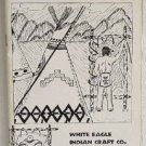 White Eagle Indian Craft Co Materials Catalog Circa 1960 Feathers Beads Drums Native American