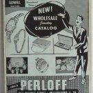Louis Perloff Wholesale Jewelers circa 1950 Catalog Jewelry Clocks Wristwatches Karoff Originals