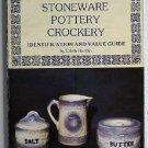 Blue & White Stoneware Pottery Crockery by Edith Harbin c.1977