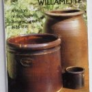 Pottery on the Willamette A History of the Oregon Pottery Co 1866-1896 by Schmeer c.1987 Stoneware