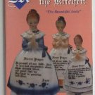 Mother in the Kitchen the Beautiful Lady by Donna Kopish c.1994 Ceramic Kitchenware Praying Girl