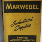 Marwedel Industrial Supplies Catalog 87 from 1958 - Garrett Corp Tools Tool Shop Supply