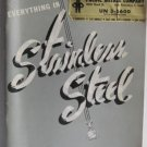 Everything in Stainless Steel Pacific Metals Co Catalog circa 1950's